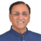 shri vijay rupani, chief minister of gujarat